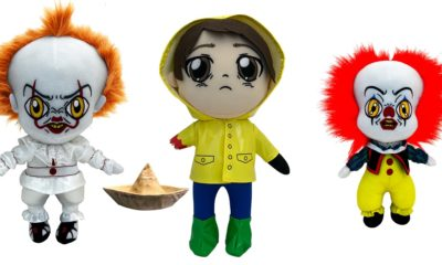 ITPLush 400x240 - Factory Entertainment's IT Plush Collection is Adorably Creepy