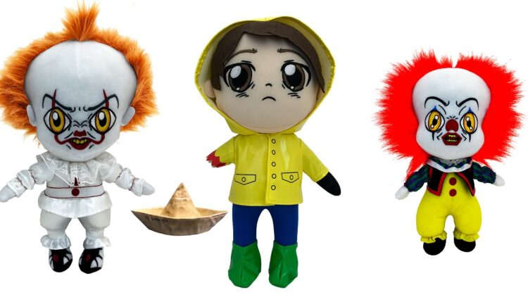 ITPLush 750x422 - Factory Entertainment's IT Plush Collection is Adorably Creepy