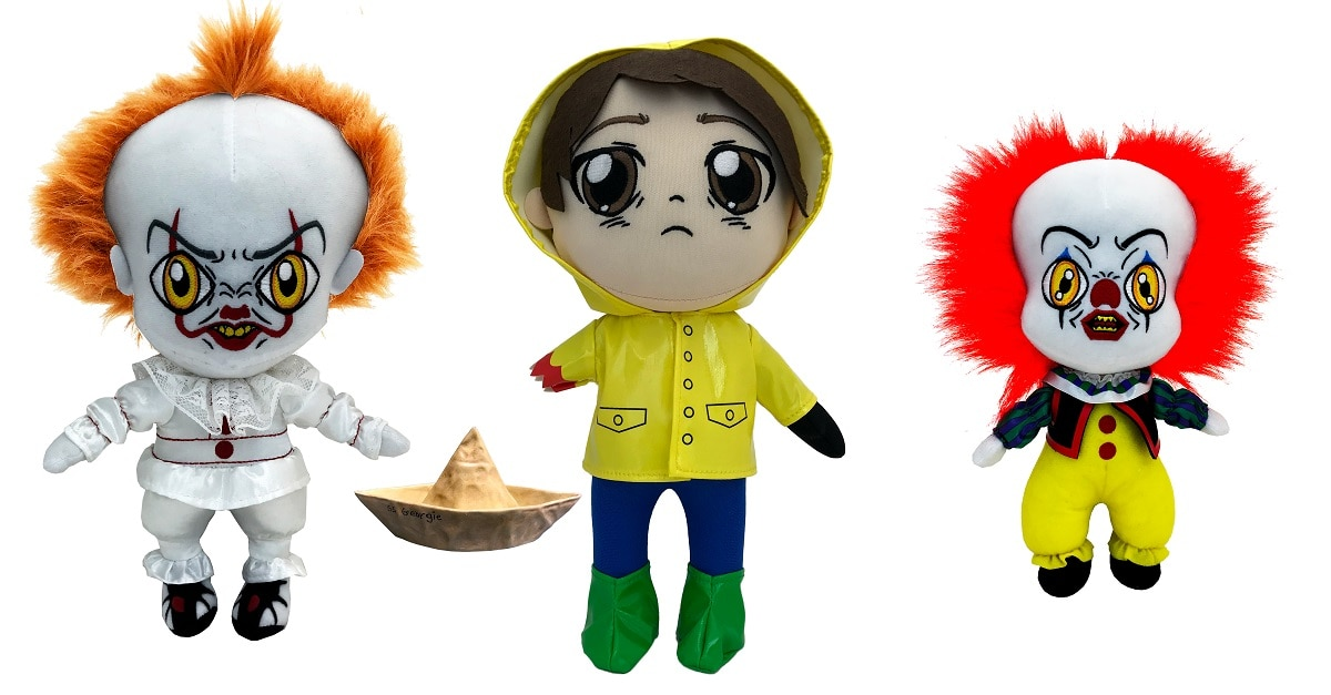 ITPLush - Factory Entertainment's IT Plush Collection is Adorably Creepy