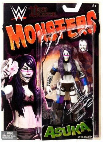 Mattel WWE Monsters Asuka 001 336x468 - Mattel's WWE Figures Showing Their Teeth...and Claws...And Other Monster Parts