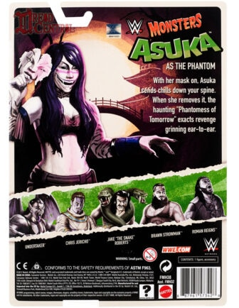 Mattel WWE Monsters Asuka 002 336x434 - Mattel's WWE Figures Showing Their Teeth...and Claws...And Other Monster Parts