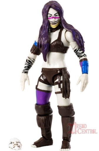 Mattel WWE Monsters Asuka 003 336x513 - Mattel's WWE Figures Showing Their Teeth...and Claws...And Other Monster Parts