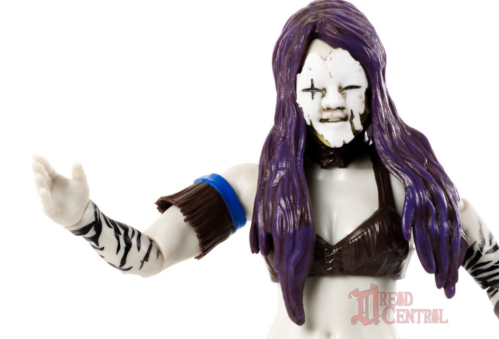 Mattel WWE Monsters Asuka 005 - Mattel's WWE Figures Showing Their Teeth...and Claws...And Other Monster Parts