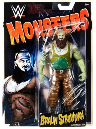 Mattel WWE Monsters Braun Strowman 001 336x452 - Mattel's WWE Figures Showing Their Teeth...and Claws...And Other Monster Parts