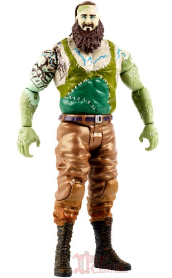 Mattel WWE Monsters Braun Strowman 003 336x542 - Mattel's WWE Figures Showing Their Teeth...and Claws...And Other Monster Parts