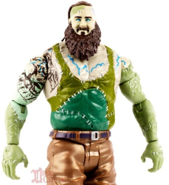 Mattel WWE Monsters Braun Strowman 004 336x367 - Mattel's WWE Figures Showing Their Teeth...and Claws...And Other Monster Parts