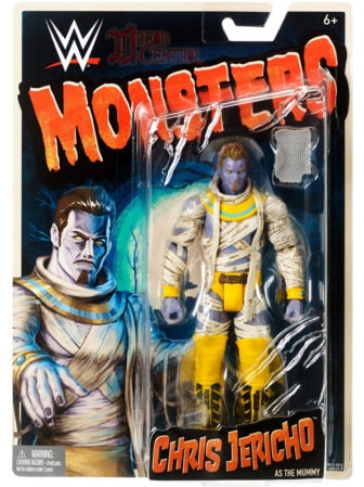 Mattel WWE Monsters Chris Jericho 001 336x449 - Mattel's WWE Figures Showing Their Teeth...and Claws...And Other Monster Parts