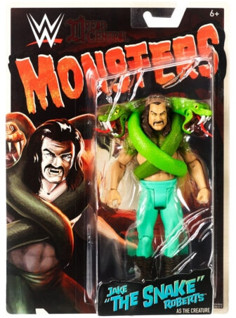 Mattel WWE Monsters Jake the Snake Roberts 001 336x452 - Mattel's WWE Figures Showing Their Teeth...and Claws...And Other Monster Parts