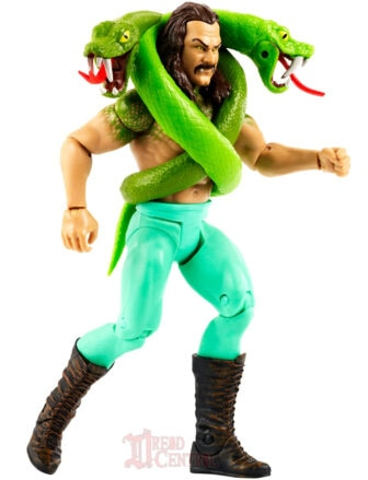 Mattel WWE Monsters Jake the Snake Roberts 005 336x439 - Mattel's WWE Figures Showing Their Teeth...and Claws...And Other Monster Parts