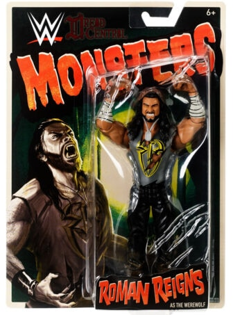Mattel WWE Monsters Roman Reigns 001 336x453 - Mattel's WWE Figures Showing Their Teeth...and Claws...And Other Monster Parts