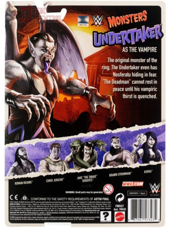 Mattel WWE Monsters Undertaker 002 336x450 - Mattel's WWE Figures Showing Their Teeth...and Claws...And Other Monster Parts