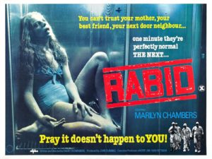 Rabid 1977 Poster 300x225 - Interview: Jen and Sylvia Soska Talk Rabid, David Cronenberg, and Transhumanism