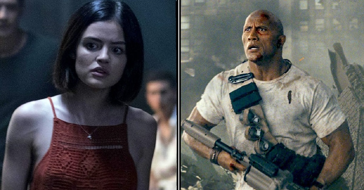 Rampage 645x369 - Go Figure, Blumhouse's Truth or Dare and Rampage Get PG-13 Ratings