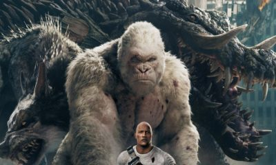 RampageNewPosterFI 400x240 - Big Meets Bigger In Epic New Rampage Poster Featuring Dwayne Johnson
