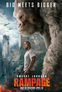 "RampagePoster3 202x300 - Dwayne ""The Rock"" Johnson Introduces New Rampage Teaser With Fun Skit"