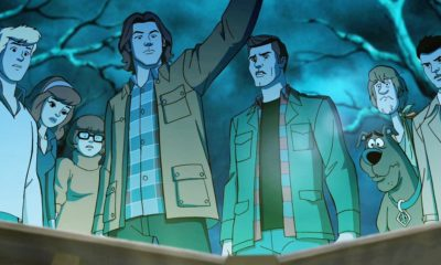 Scoobynatural BTS 400x240 - Let's Go Behind the Scenes of the Upcoming Scooby-Doo/Supernatural Crossover Episode, Shall We?