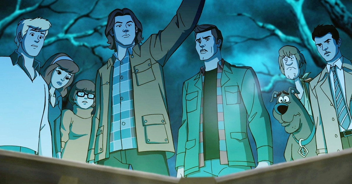Scoobynatural BTS - Let's Go Behind the Scenes of the Upcoming Scooby-Doo/Supernatural Crossover Episode, Shall We?