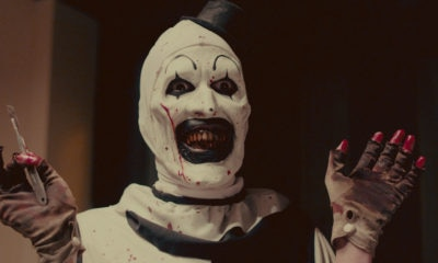 TERRIFIER 03 Art the Clowns  400x240 - Dread X: TERRIFIER's David Howard Thornton Picks His Top 10 Killer Clowns!