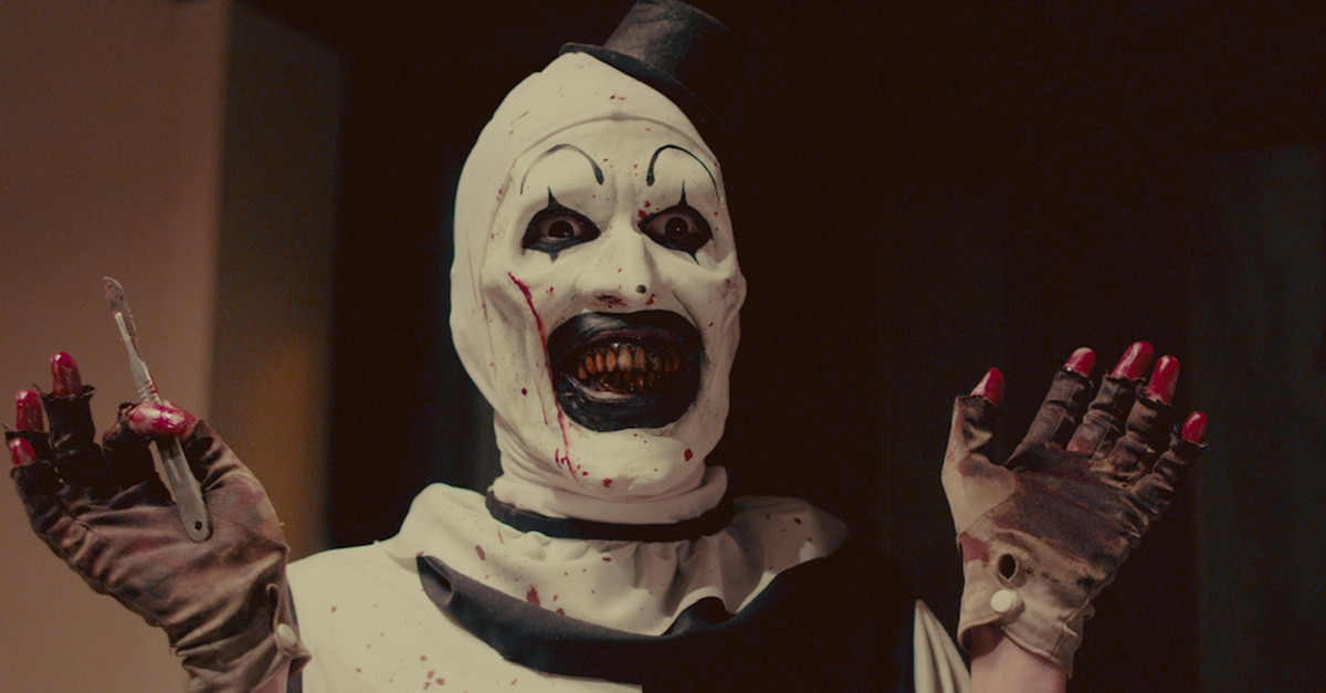 TERRIFIER 03 Art the Clowns  - Dread X: TERRIFIER's David Howard Thornton Picks His Top 10 Killer Clowns!