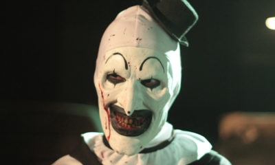 "TERRIFIER 05 Art the Clowns 400x240 - Audition Tape that Got Actor Cast as ""Art the Clown"" in TERRIFIER Emerges On Facebook"