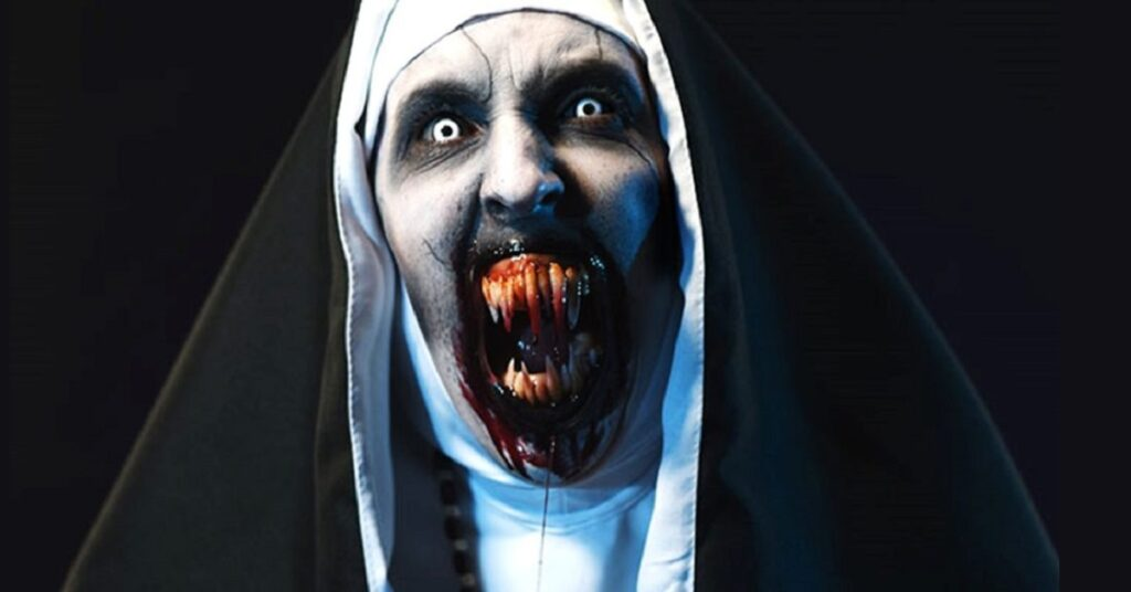 The Nun 1024x576 1024x536 - #SDCC18: Director Corin Hardy Talks THE NUN, Growing THE CONJURING Universe, And Spooky Romanian Monasteries