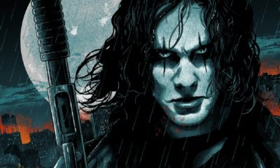 """TheCrow Copy 400x240 - Must-Own: Vance Kelly's """"The Killer of Killers"""" Poster Inspired by Alex Proyas' The Crow"""