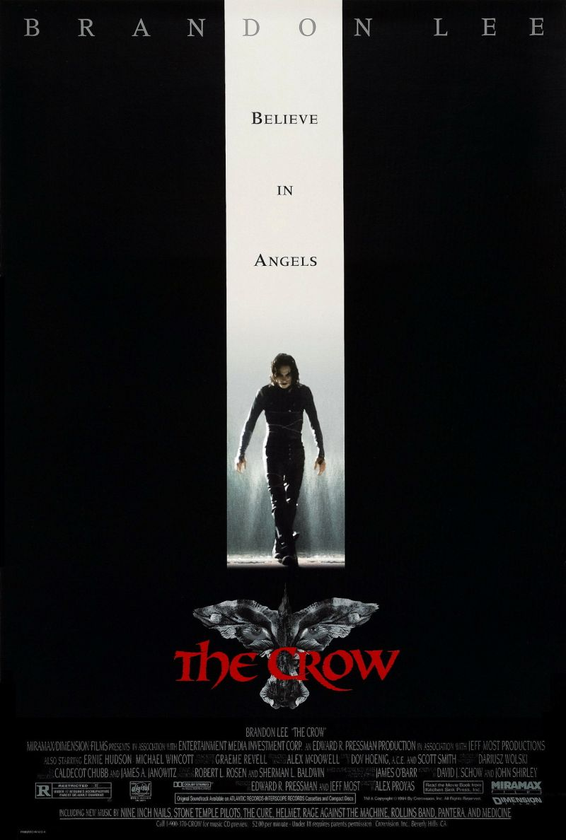 TheCrowPoster - Photographer Takes the PERFECT Photo at the Grave of Brandon Lee