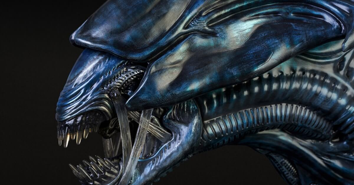 alien queen bust 20 1 - Bow and Pray Before Sideshow's Alien Queen Bust