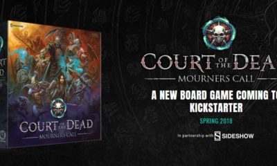 court of the dead mourners call box 400x240 - Sideshow Teaming with Project Raygun on New Court of the Dead Tabletop Game