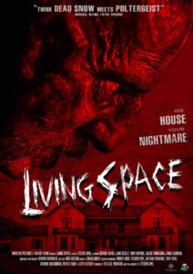 living space 1 212x300 - Zombie Nazi Movie Living Space to Premiere at the Monster Fest Traveling Road Show