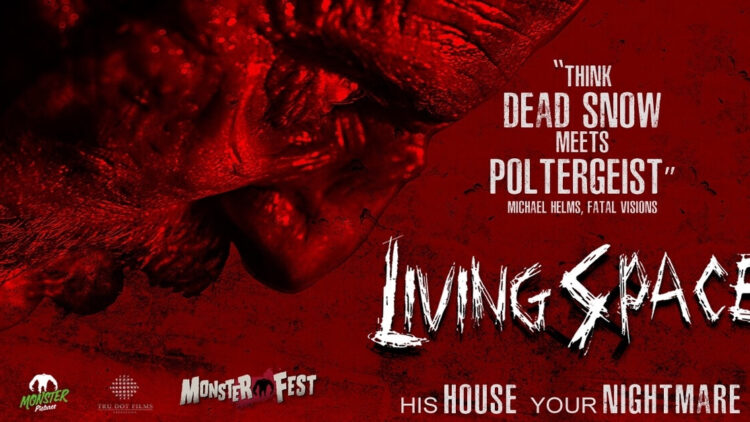 living space2 1 750x422 - Zombie Nazi Movie Living Space to Premiere at the Monster Fest Traveling Road Show