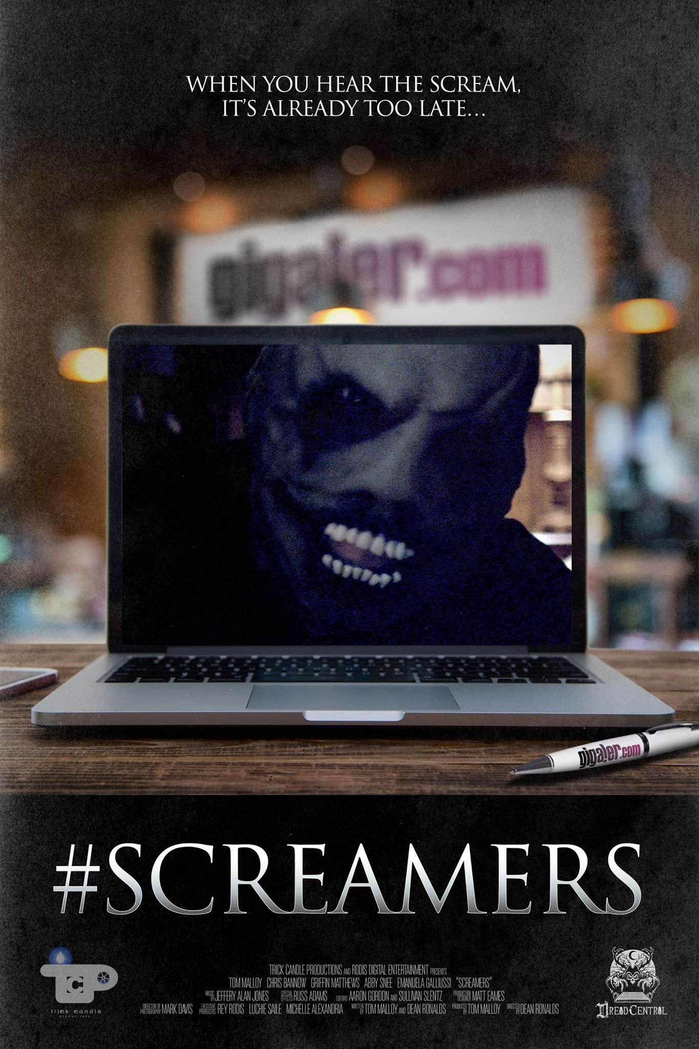 screamers 2 - Dread Central Presents #Screamers NEXT WEEK! Get Your Tickets NOW!!!