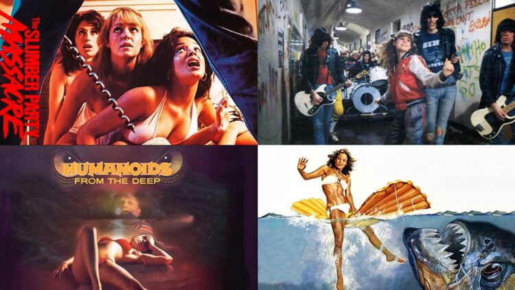 slumberpartymassacre 750x422 - Shout Factory Buys Roger Corman's Entire Film Library! Plans to Remake/Reboot Movies Like Slumber Party Massacre and Piranha