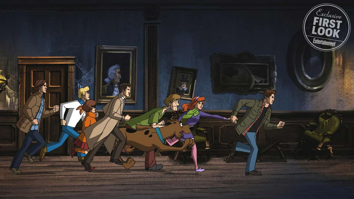 supernatural scooby1 - First Look Photos and Official Synopsis of the Supernatural/Scooby-Doo Crossover