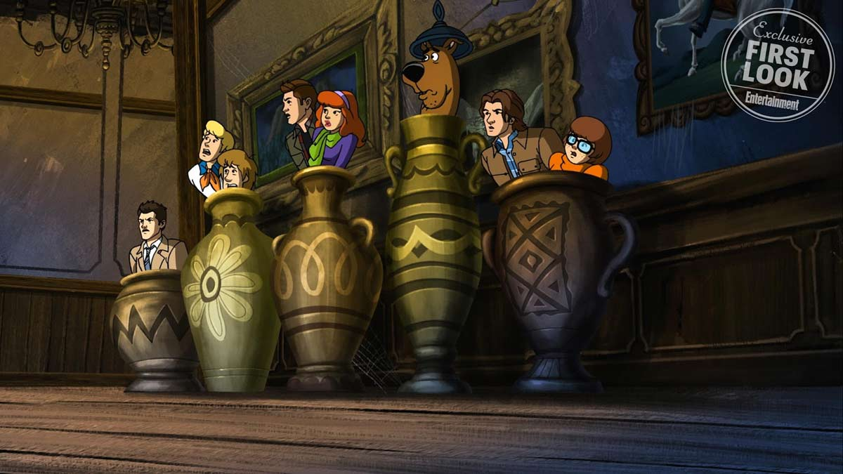 supernatural scooby2 - First Look Photos and Official Synopsis of the Supernatural/Scooby-Doo Crossover
