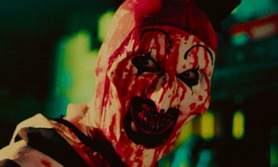 terrifier blood 400x240 - Interview: Director Damien Leone Discusses the Guts Behind Terrifier