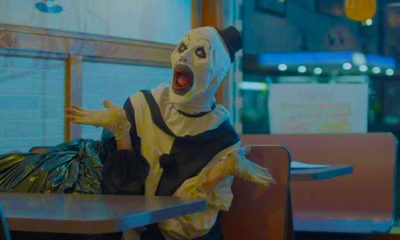 terrifier scream 400x240 - Terrifier Review Round-Up: The Critics Are SCREAMING!