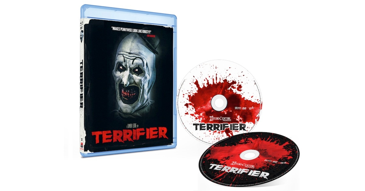 terrifierbluraycombobanner1200x627 - Dread Central Presents: Terrifier Home Video Details Revealed
