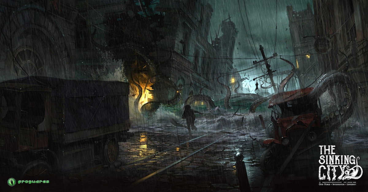 thesinkingcity The Flood is Comingbanner1200x627 - The Sinking City: Concept Artist Andrey Roscha on Designing Beautiful Terror