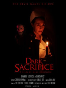 unnamed 225x300 - Exclusive Poster Debut for Mike Bruining's Dark Sacrifice Starring Jasper Cole