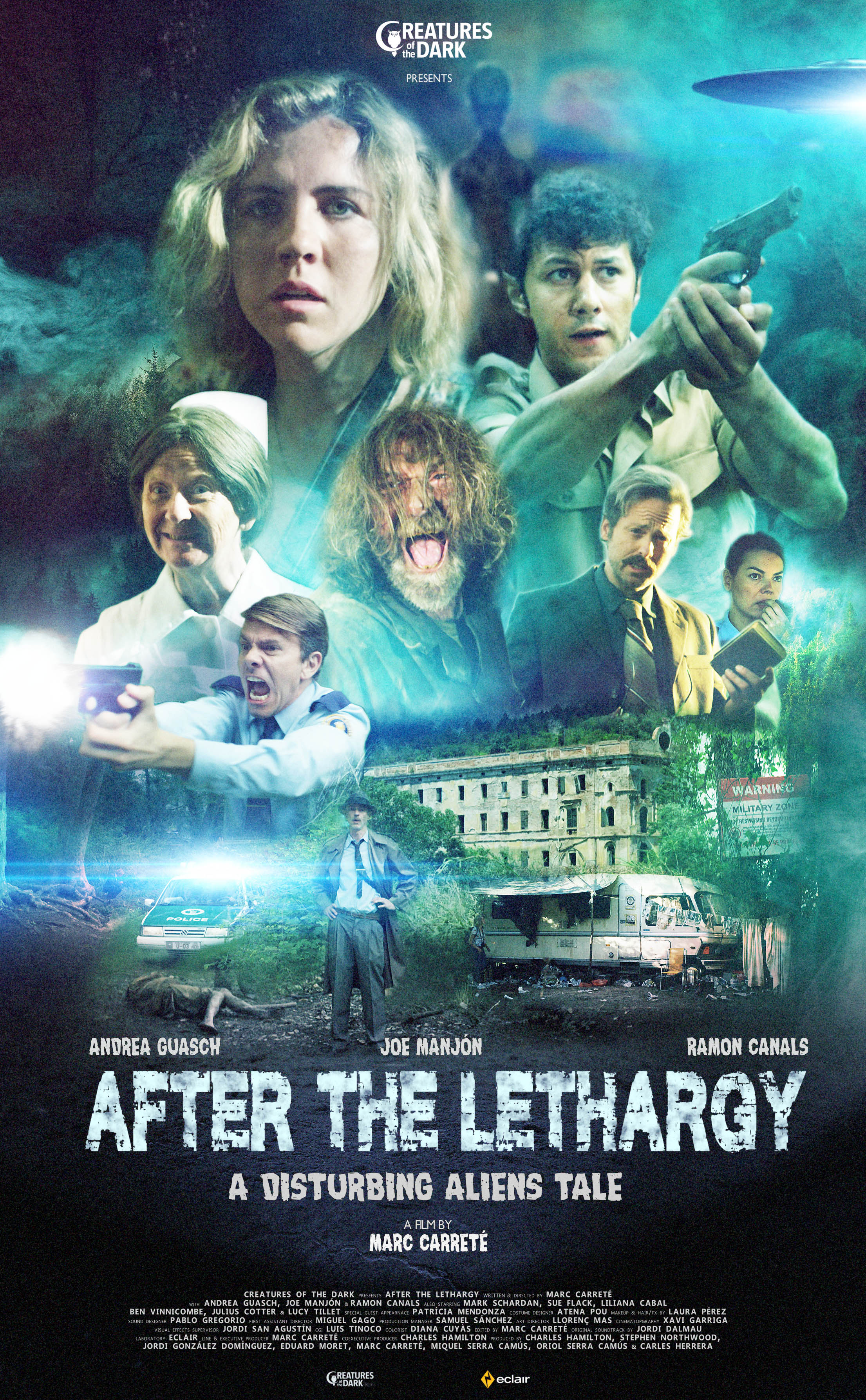 ATL Official Poster A11th - The '80s-Evoking Monster Movie After the Lethargy Heads to Fantaspoa