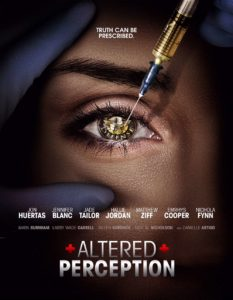 Altered Perception new 233x300 - ALTERED PERCEPTION Opens in Theaters and on VOD/Digital in May