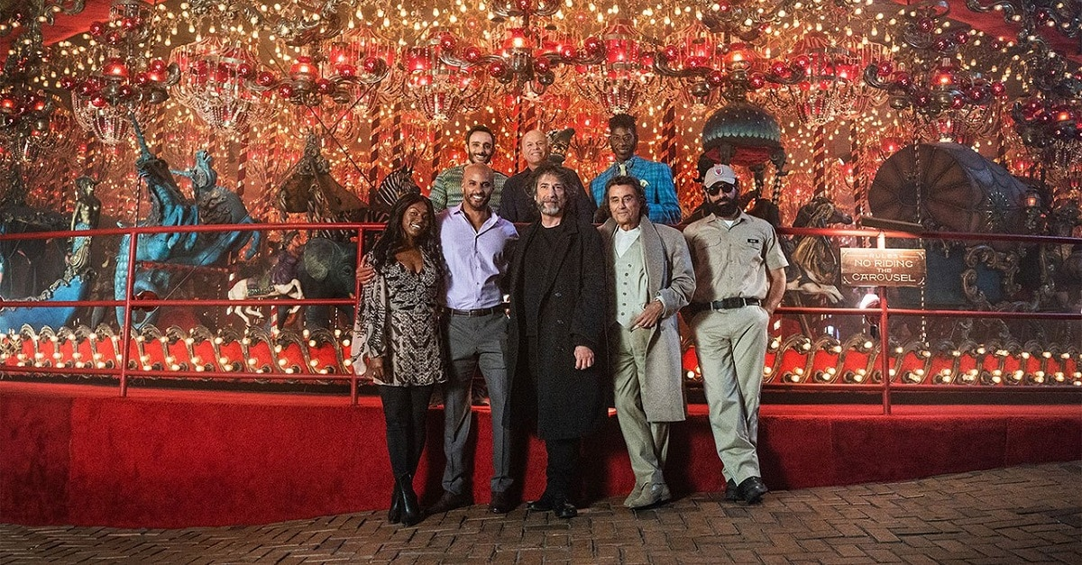 American Gods 2 - AMERICAN GODS Season 2 Kicks Off Production