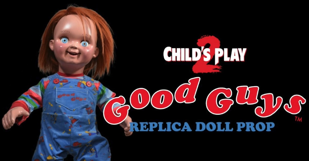 Chucky Doll Header - Trick or Treat Studios' One-To-One Scale Chucky Doll Now Available for Pre-Order!