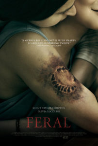 Feral poster 01 202x300 - Trailer: Scout Taylor-Compton Goes FERAL