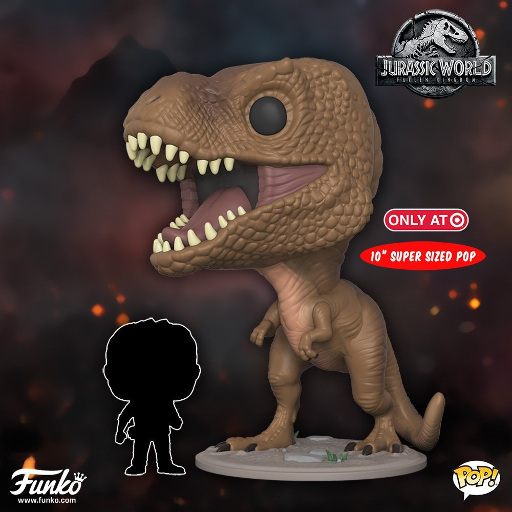 Funko Pop - Jurassic World 2 Gets Yet Another Poster - and Funko Pop Figures!