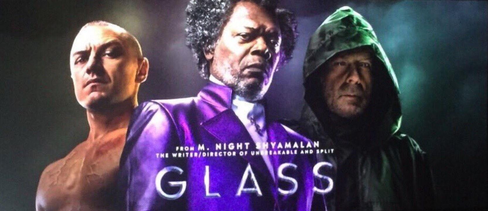 Glass Poster - SDCC 2018: Blumhouse Brings GLASS and HALLOWEEN to Hall H