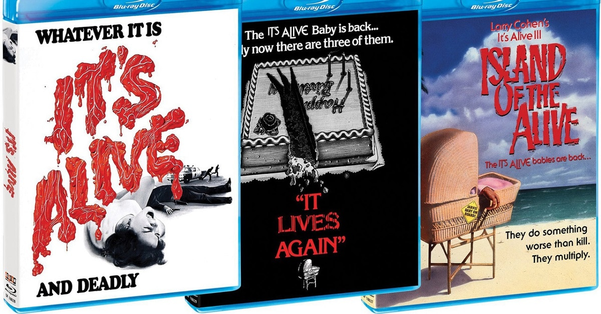 ItsAliveTrilogyheader - Scream Factory's It's Alive Trilogy Blu-ray Box Set Announces Special Features!