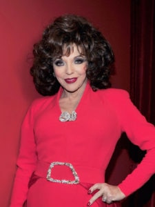 Joan Collins And Maybe Anjelica Huston Join American