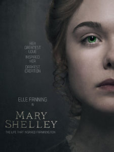 Mary Shelley Poster 225x300 - Exclusive: MARY SHELLEY Clip Gets Super Emotional